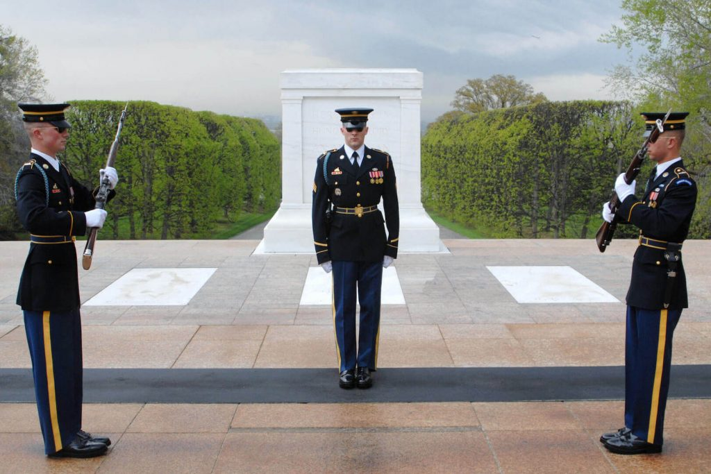 Tomb of unknown soldiers
