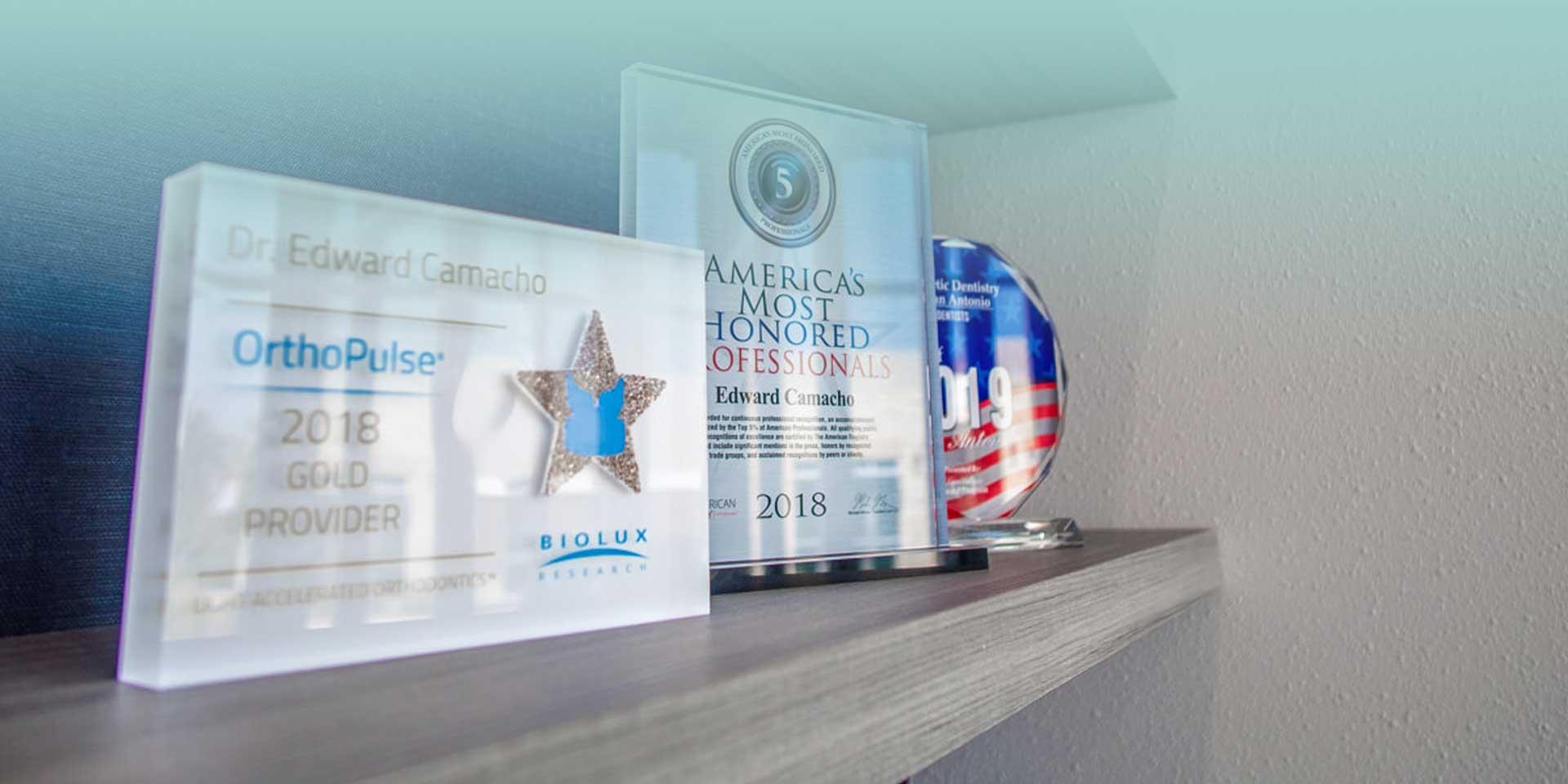 Awards and media at Cosmetic Dentistry of San Antonio