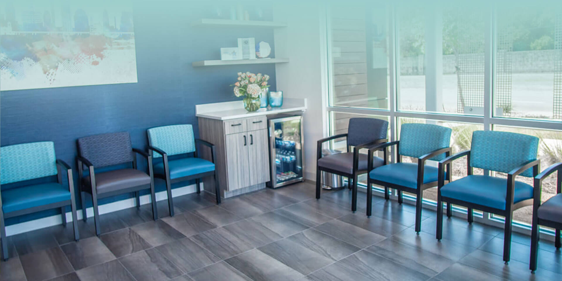 Interior office view at Cosmetic Dentistry of San Antonio