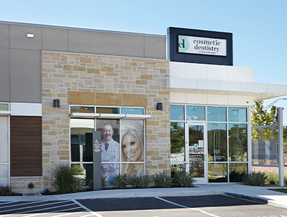 Cosmetic Dentistry of San Antonio outside view